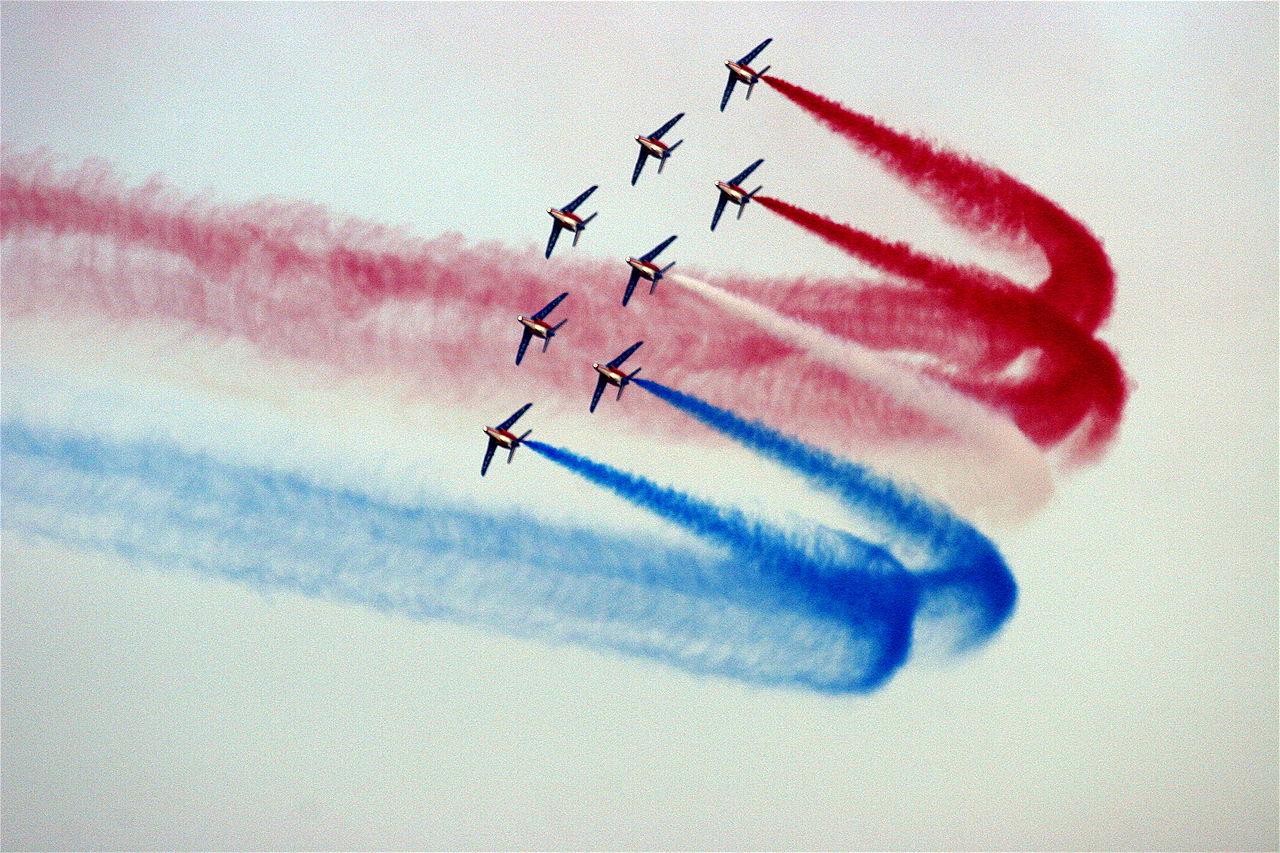 Formations de la Patrouille de France